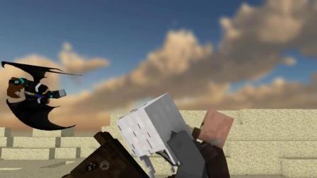 我的世界动画-保卫村庄-02-KARISHA