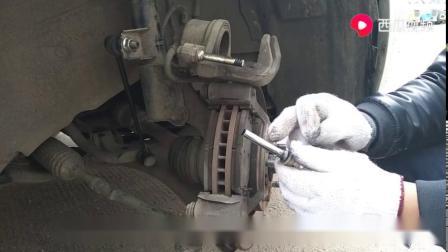 刹车分泵保养原来这么简单,早看到上次就不要去汽修店了