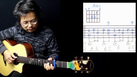 阿涛风格弹唱【夜之光】高清吉他谱