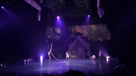 上海迪士尼 人猿泰山:丛林的呼唤演出 前排完整版2018年10月17日