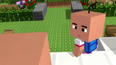 我的世界动画-双胞胎起床-Vino Animation