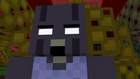 我的世界动画-怪物学院-恶作剧挑战-MineSchool