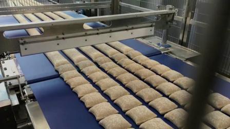 RONDO瑞士龙都: 面包工业级生产线+机械臂面包自动搓圆技术