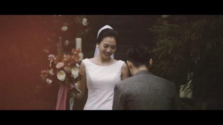 绯系视觉作品 | 重庆野兽山庄森林婚礼