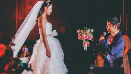 一对留学生的爱情 - 北辰洲际酒店婚礼摄影