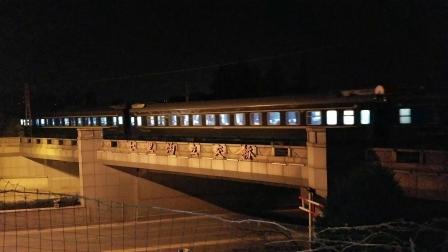 【20181209_021731】京局京段HXD3D 0533牵引客车T32次(杭州~北京)京沪线上行 交汇电力客车Z9次(北京~杭州)