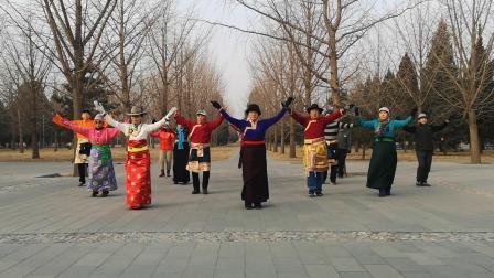 北京锅庄_20190112_《欢腾的玉树草原》(西宁锅庄08)