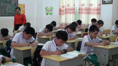 《習作》人教版小學語文六下課堂實錄-海南文昌市-云菊秋