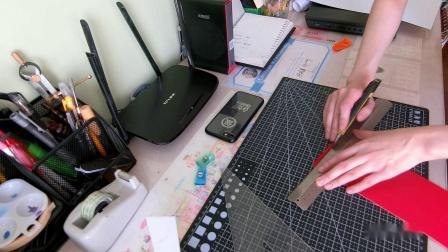 『手工皮具』简简单单的小羊皮红包丨HitomiO1原创