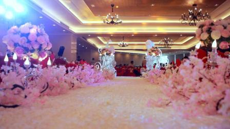 樟树唯一订制婚礼  粉色布置