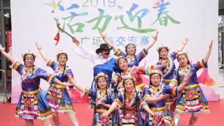 2019年3月16日~参加活力迎春广场舞交流赛《逛新城》