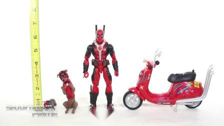 Marvel Legends 死侍 Deadpool 摩托套 松鼠 狗