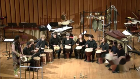 Percussion Ensemble - Traditional West African - Zaouli