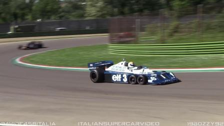 6-wheeled 1977 Tyrrell P34 F1