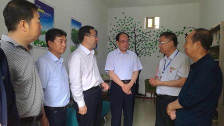 现子湾视频甘肃省关工委主任刘立军一行来天水调研关心下一代工作