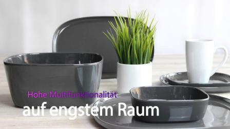 德国Holst氧化铝瓷器餐具,色釉,简约风。Skagen 系列。