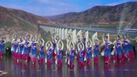 """好男儿拍摄制作""""舞动江苏广场舞大赛""""徐州市决赛铜山舞之缘舞蹈队表演(同唱祖国好)"""