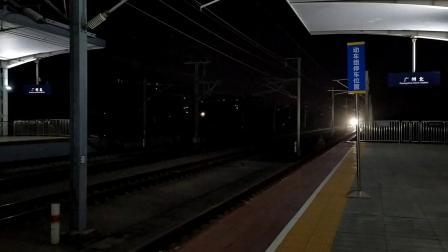 2019年9月7日,G6038次(深圳坪山站—长沙南站)本务中国铁路广州局集团有限公司广州动车段长沙动车运用所CR400AF-A-2073广州北站通过
