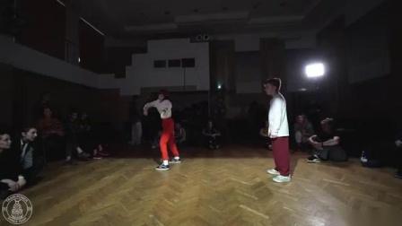 POPPING BEG 12 Krosh Boogie vs Бурундук