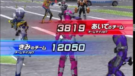 日本玩傢介紹街機對打遊戲之假面騎士訊 飛翔長空獵鷹正式登場參戰!