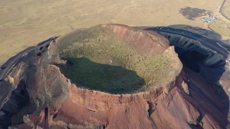 乌兰哈达火山地质公园(内蒙古风光 航拍 玉子)