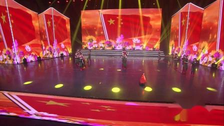 2020陕西省最美童年少儿春节大联欢《为中国喝彩》--蔡家坡启蒙幼儿园