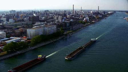 莱茵河畔的巴斯夫路德维希港基地