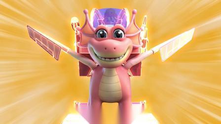 时空龙骑士 恐龙机甲战斗 拯救恐龙世界