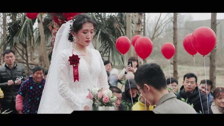 监利农村户外婚礼片花