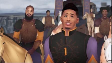 NBA版权游第五季02集太阳国王欲合体日王队