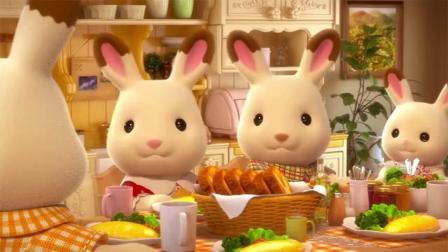 《第01話~你好!巧克力兔家族!》Sylvanian Families