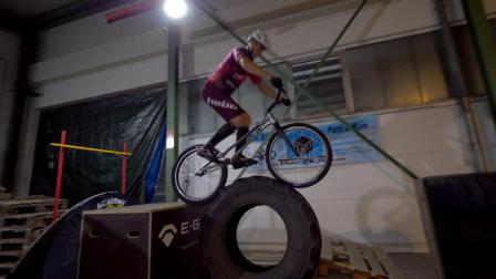 THE FLOOR IS LAVA CHALLENGE (extreme bike edition)