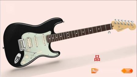 认识吉他指板与六线谱(入门篇)