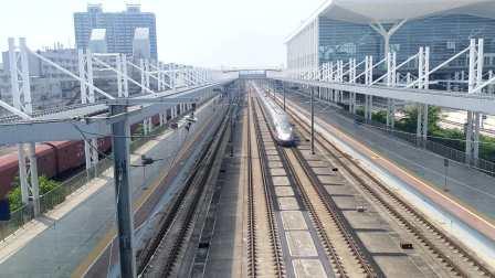 2020年9月1日,G532次(深圳北站—石家庄站)本务中国铁路北京局集团有限公司北京动车段石家庄动车运用所CR400AF-2010+2021广州北站通过