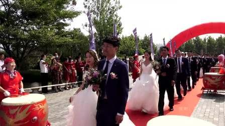 【原创】2020年万华化学集体婚礼(入场式)