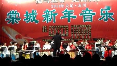 2014棠城新年音乐会部分节目欣赏,20140112江山如此多娇照相机15米以远随录