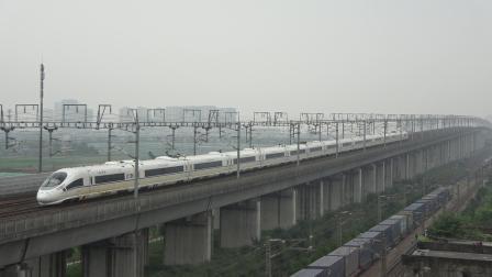 【2020.07.20】[杭州高铁枢纽][盈丰出租屋楼顶] G7313次 CRH380CL-5615