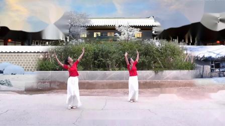 天津玉儿广场舞 另一版《又见北风吹》视频制作:龙虎影音