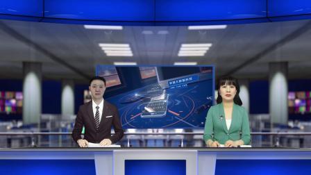 vMix专用虚拟集 新闻直播间节目预告播报解说单双主持人抠像多机位