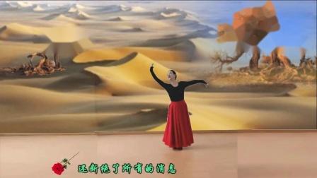 河洛红晨广场舞《可可托海的牧羊人》