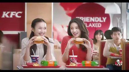 嗨呗网-KFC培根鸡腿燕麦堡广告-双重世界篇