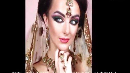分享:肚皮舞舞者必掌握的舞台妆(阿拉伯眼妆技巧)1