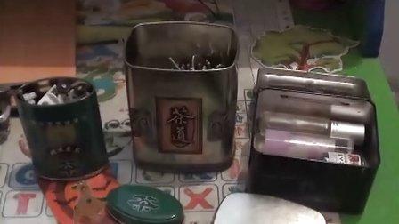 【拍客】废弃茶叶盒存放细碎物品环保节约