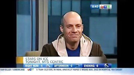 Kurt Browning on Winnipeg morning show