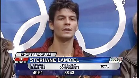 2006 Olympic Winter Games Stephane Lambiel SP
