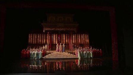 普契尼《图?#32423;洹稰uccini Turandot 2008年瓦伦西亚索菲亚王后艺术歌剧院版 中意字幕