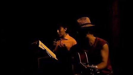 爱很简单 严帅哥 游人 厨师 吉他伴奏 TONY CHENG 南京 玄武湖130827TUE
