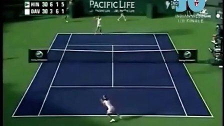 2006年 WTA印第安威尔斯站第4轮 辛吉斯 VS 达文波特 Highlight