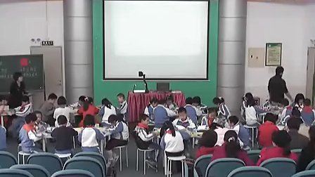 长方形和正方形危巧尼二年级小学数学课堂展示观摩课实录视频视频