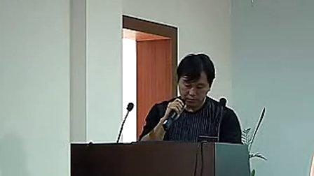 中学语文说课大赛《爱莲说》瞿晓莉涪城区中学语文说课大赛 评委点评苏林.